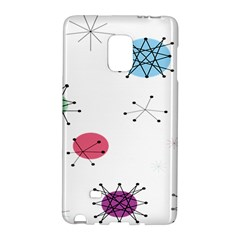 Atomic Starbursts Circle Line Polka Galaxy Note Edge by Mariart