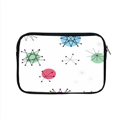 Atomic Starbursts Circle Line Polka Apple Macbook Pro 15  Zipper Case by Mariart
