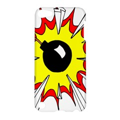 Book Explosion Boom Dinamite Apple Ipod Touch 5 Hardshell Case by Mariart