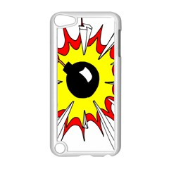 Book Explosion Boom Dinamite Apple Ipod Touch 5 Case (white) by Mariart