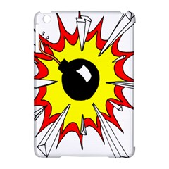 Book Explosion Boom Dinamite Apple Ipad Mini Hardshell Case (compatible With Smart Cover) by Mariart