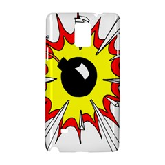 Book Explosion Boom Dinamite Samsung Galaxy Note 4 Hardshell Case by Mariart