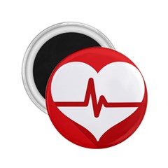 Cardiologist Hypertension Rheumatology Specialists Heart Rate Red Love 2 25  Magnets by Mariart