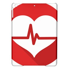 Cardiologist Hypertension Rheumatology Specialists Heart Rate Red Love Ipad Air Hardshell Cases by Mariart