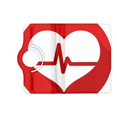 Cardiologist Hypertension Rheumatology Specialists Heart Rate Red Love Kindle Fire Hd (2013) Flip 360 Case by Mariart