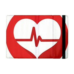 Cardiologist Hypertension Rheumatology Specialists Heart Rate Red Love Ipad Mini 2 Flip Cases by Mariart