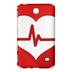 Cardiologist Hypertension Rheumatology Specialists Heart Rate Red Love Samsung Galaxy Tab 4 (7 ) Hardshell Case  by Mariart