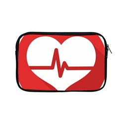 Cardiologist Hypertension Rheumatology Specialists Heart Rate Red Love Apple Macbook Pro 13  Zipper Case by Mariart
