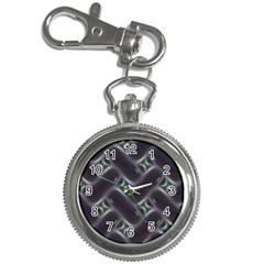Closeup Purple Line Key Chain Watches by Mariart