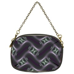 Closeup Purple Line Chain Purses (one Side)  by Mariart