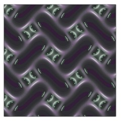 Closeup Purple Line Large Satin Scarf (square) by Mariart