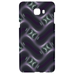 Closeup Purple Line Samsung C9 Pro Hardshell Case  by Mariart