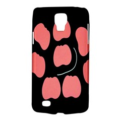 Craft Pink Black Polka Spot Galaxy S4 Active by Mariart