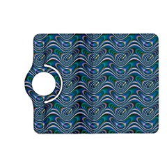 Boomarang Pattern Wave Waves Chevron Green Line Kindle Fire Hd (2013) Flip 360 Case by Mariart