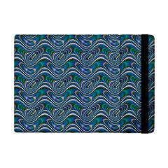 Boomarang Pattern Wave Waves Chevron Green Line Ipad Mini 2 Flip Cases by Mariart