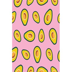 Fruit Avocado Green Pink Yellow 5 5  X 8 5  Notebooks by Mariart