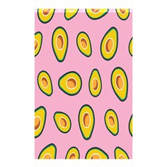 Fruit Avocado Green Pink Yellow Shower Curtain 48  X 72  (small)  by Mariart