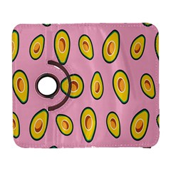 Fruit Avocado Green Pink Yellow Galaxy S3 (flip/folio) by Mariart