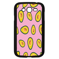 Fruit Avocado Green Pink Yellow Samsung Galaxy Grand Duos I9082 Case (black) by Mariart