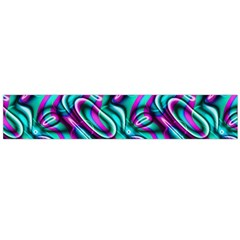 Circle Purple Green Wave Chevron Waves Flano Scarf (large) by Mariart