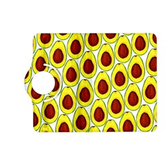 Avocados Seeds Yellow Brown Greeen Kindle Fire Hd (2013) Flip 360 Case by Mariart