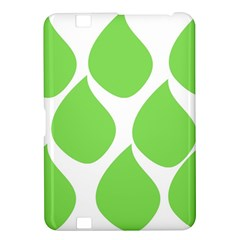 Green Water Rain Kindle Fire Hd 8 9  by Mariart