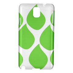 Green Water Rain Samsung Galaxy Note 3 N9005 Hardshell Case by Mariart