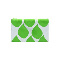 Green Water Rain Cosmetic Bag (xs) by Mariart