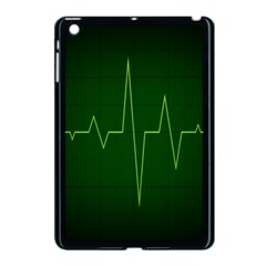 Heart Rate Green Line Light Healty Apple Ipad Mini Case (black) by Mariart