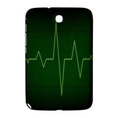 Heart Rate Green Line Light Healty Samsung Galaxy Note 8 0 N5100 Hardshell Case  by Mariart