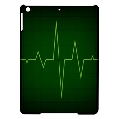 Heart Rate Green Line Light Healty Ipad Air Hardshell Cases by Mariart