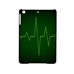 Heart Rate Green Line Light Healty Ipad Mini 2 Hardshell Cases by Mariart
