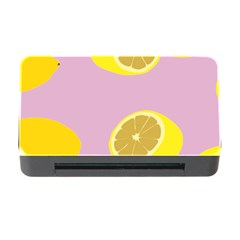 Fruit Lemons Orange Purple Memory Card Reader With Cf by Mariart