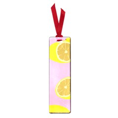 Fruit Lemons Orange Purple Small Book Marks by Mariart