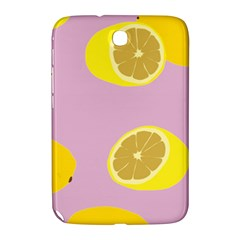 Fruit Lemons Orange Purple Samsung Galaxy Note 8 0 N5100 Hardshell Case  by Mariart