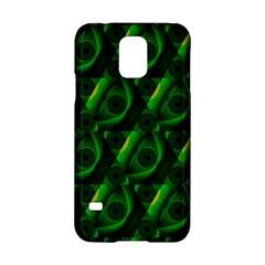 Green Eye Line Triangle Poljka Samsung Galaxy S5 Hardshell Case  by Mariart