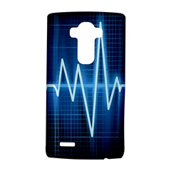 Heart Monitoring Rate Line Waves Wave Chevron Blue Lg G4 Hardshell Case by Mariart