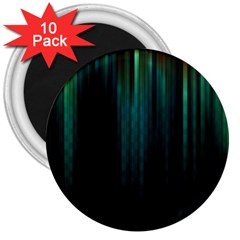 Lines Light Shadow Vertical Aurora 3  Magnets (10 Pack)  by Mariart