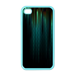 Lines Light Shadow Vertical Aurora Apple Iphone 4 Case (color) by Mariart