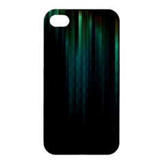 Lines Light Shadow Vertical Aurora Apple Iphone 4/4s Hardshell Case by Mariart