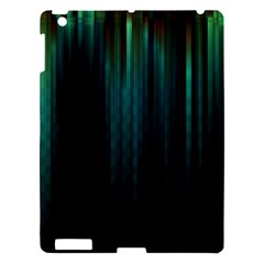 Lines Light Shadow Vertical Aurora Apple Ipad 3/4 Hardshell Case by Mariart
