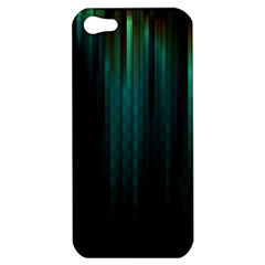 Lines Light Shadow Vertical Aurora Apple Iphone 5 Hardshell Case by Mariart