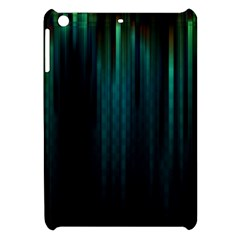 Lines Light Shadow Vertical Aurora Apple Ipad Mini Hardshell Case by Mariart