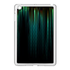Lines Light Shadow Vertical Aurora Apple Ipad Mini Case (white) by Mariart