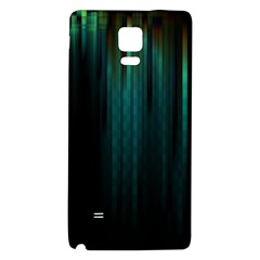Lines Light Shadow Vertical Aurora Galaxy Note 4 Back Case by Mariart