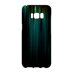 Lines Light Shadow Vertical Aurora Samsung Galaxy S8 Hardshell Case  by Mariart