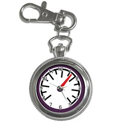 Maker Measurer Hours Time Speedometer Key Chain Watches by Mariart