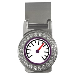 Maker Measurer Hours Time Speedometer Money Clips (cz)  by Mariart