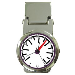 Maker Measurer Hours Time Speedometer Money Clip Watches by Mariart