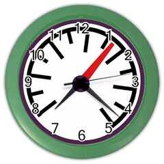 Maker Measurer Hours Time Speedometer Color Wall Clocks by Mariart